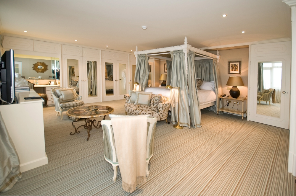 Live the high life at Guernsey's crown jewel, the Old Government House Hotel