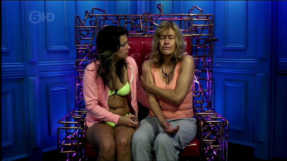 Big Brother 2013: Gina and Dexter save Charlie from eviction and nominate her mum Jackie