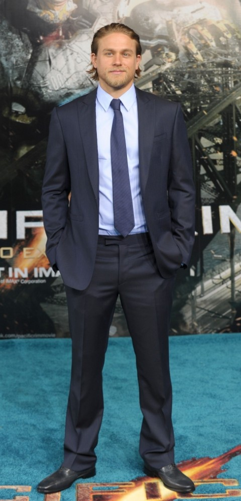 Sons Of Anarchy's Charlie Hunnam stars in Pacific Rim, out on Friday (Picture: Rex)