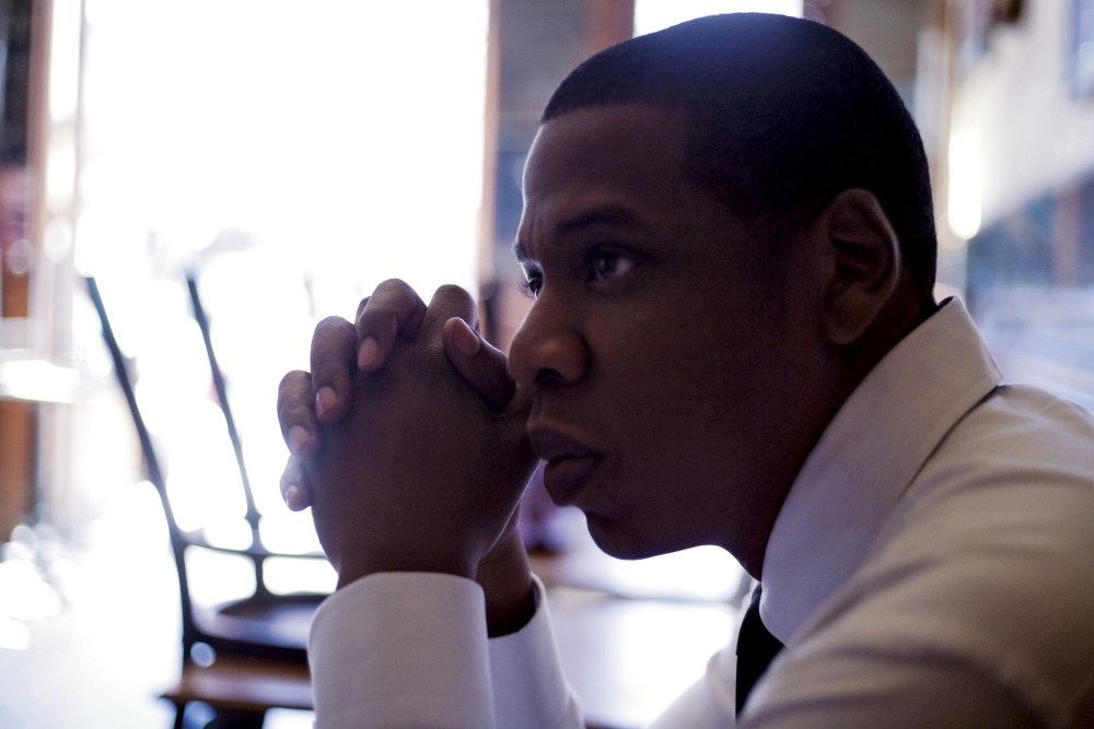 There's no doubting who is boss on Jay Z's new album (Picture: Suppled)