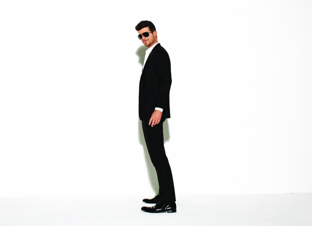 Robin Thicke, Passenger and Naughty Boy have most streamed songs of the summer