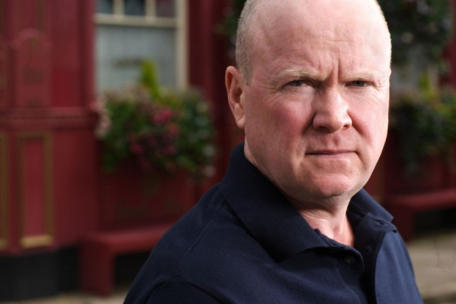 Television Programme: EastEnders with Steve McFadden as Phil Mitchell. Programme Name: EastEnders - TX: n/a - Episode: n/a (No. n/a) - Embargoed for publication until: n/a - Picture Shows:  Phil Mitchell (STEVE MCFADDEN) - (C) BBC - Photographer: Adam Pensotti