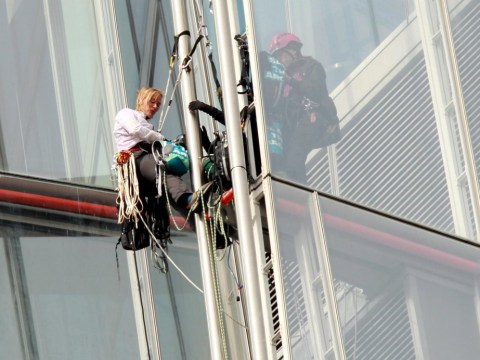 Gallery: Greenpeace protest at The Shard