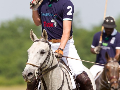 Royal baby: Prince William relaxes playing polo with brother Harry as world's press continues to wait for news