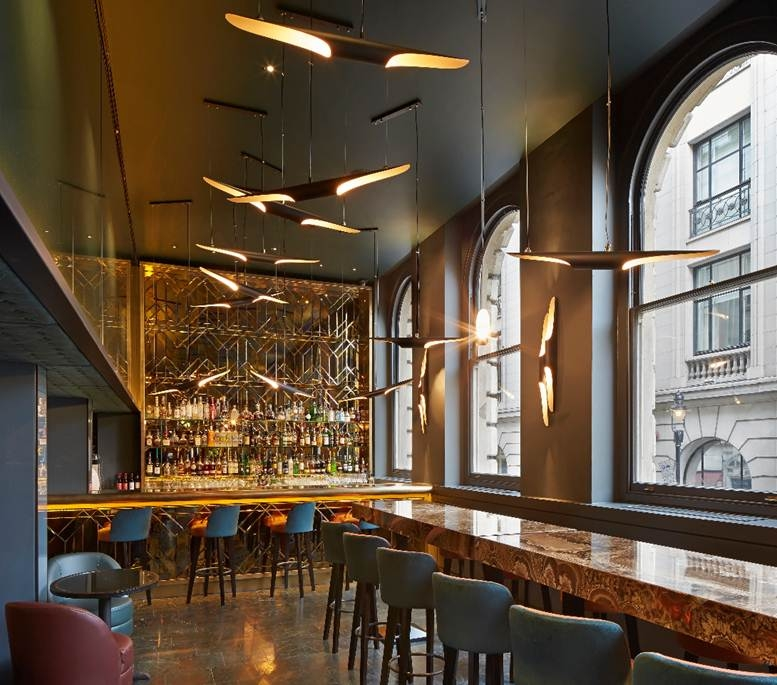 Food fails to live up to the opulent setting at refurbished Christopher's