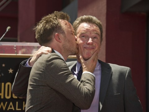 Bryan Cranston and Aaron Paul get Breaking Bad tattoos to mark show finale