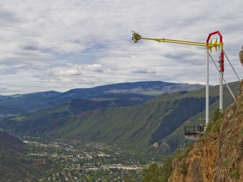 Is this the most terrifying swing ride in the world?