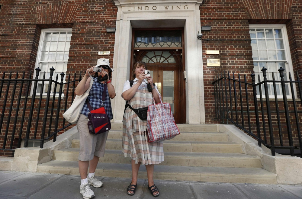 Kate Middleton hospital becoming tourist attraction in own right as royal baby wait 'nears end'