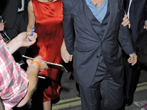 Johnny Depp joined by girlfriend Amber Heard for dinner after flying solo for The Lone Ranger premiere