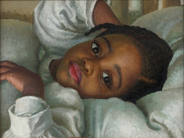 Laura Knight's play-it-straight likenesses of gipsies, circus folk and young black children, including The Piccanniny, feel trite (Picture: supplied)
