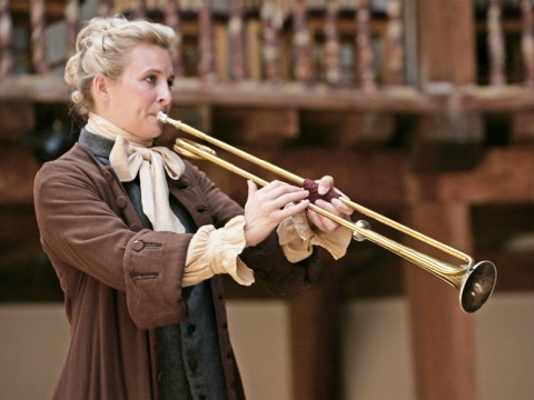 Musician Alison Balsom is lost without her trumpet in Dominic Dromgoole's Gabriel