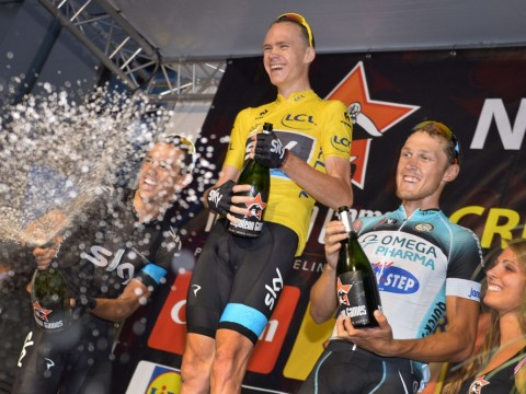 Chris Froome continues winning ways in Belgium – hours after all-night Tour de France party