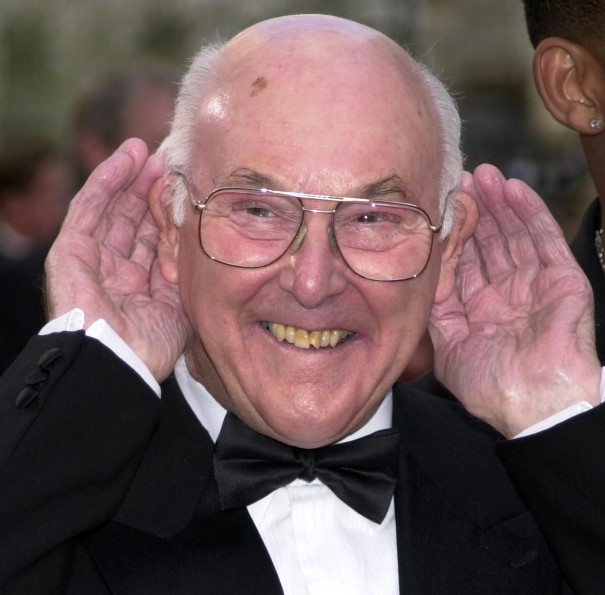 Motor racing commentator Murray Walker arrives at the British Academy Television Awards, at the Theatre Royal, Drury Lane in London.