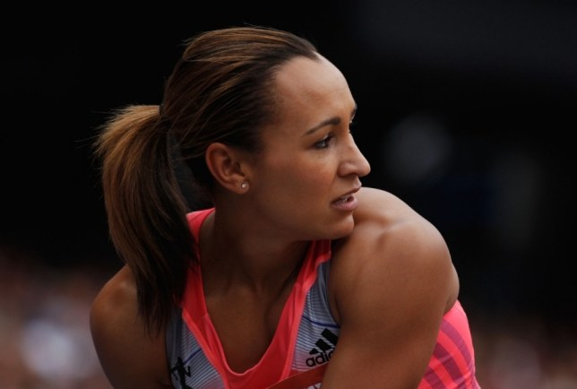 LONDON, ENGLAND - JULY 27:  Jessica Ennis-Hill of Great Britain looks on as she waits to jump in the Women's Long Jump during day two of the Sainsbury's Anniversary Games - IAAF Diamond League 2013 at The Queen Elizabeth Olympic Park on July 27, 2013 in London, England.  (Photo by Harry Engels/Getty Images)