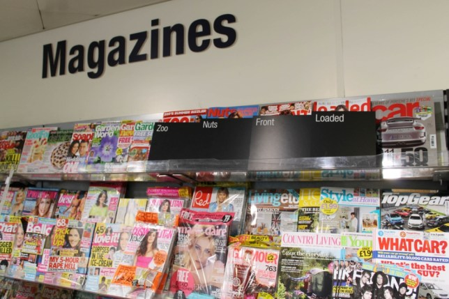 Lads' mags told to cover up or vanish