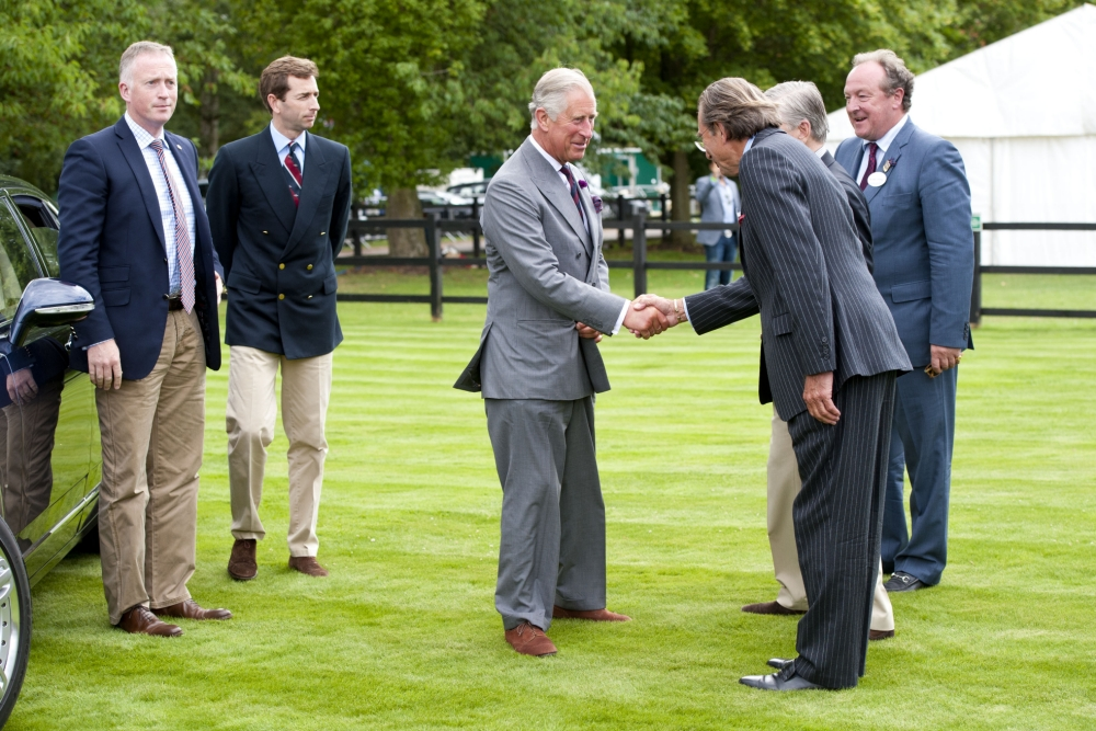 Prince Charles Congratulated On Becoming A Grandfather At