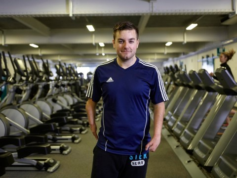 Alex Brooker showed that being vain is a badge of honour for men