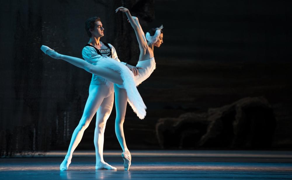 The Bolshoi's Alexander Volchkov and Svetlana Zakharova (Picture: Getty)