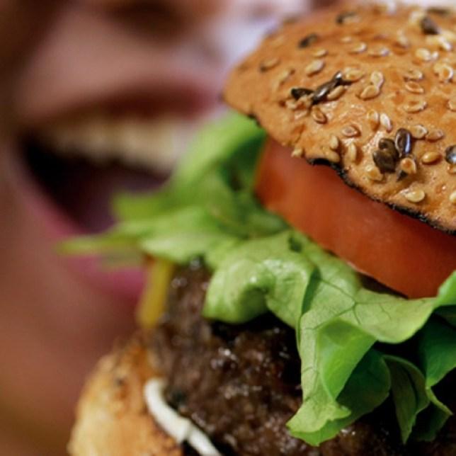 Juicy: A regular burger (Picture: File)