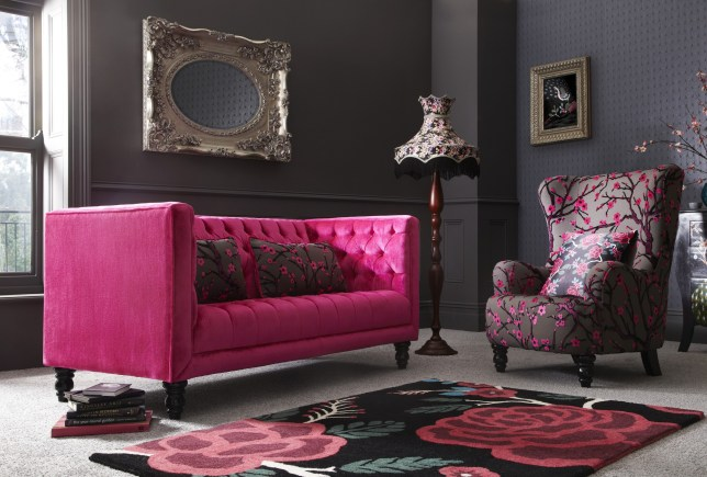 Fearne Cotton's furniture collection includes this three-seater, inspired by Portobello Market (Picture: supplied)