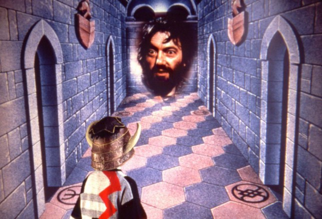 Television programme : Knightmare.  Ground-breaking in its time (1987), this 'Dungeons and Dragons' style interactive game show featured a team of hopefuls guiding a hapless friend around all manner of perilous obstacles.  But not everything in the dungeon was dangerous - witches and wizards roamed the catacombs, able to help the questers out if they could solve a riddle or two. _01_rgb.jpg