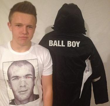 Swansea ball boy 'kicked' by Eden Hazard hopeful of selling jacket for £20,000