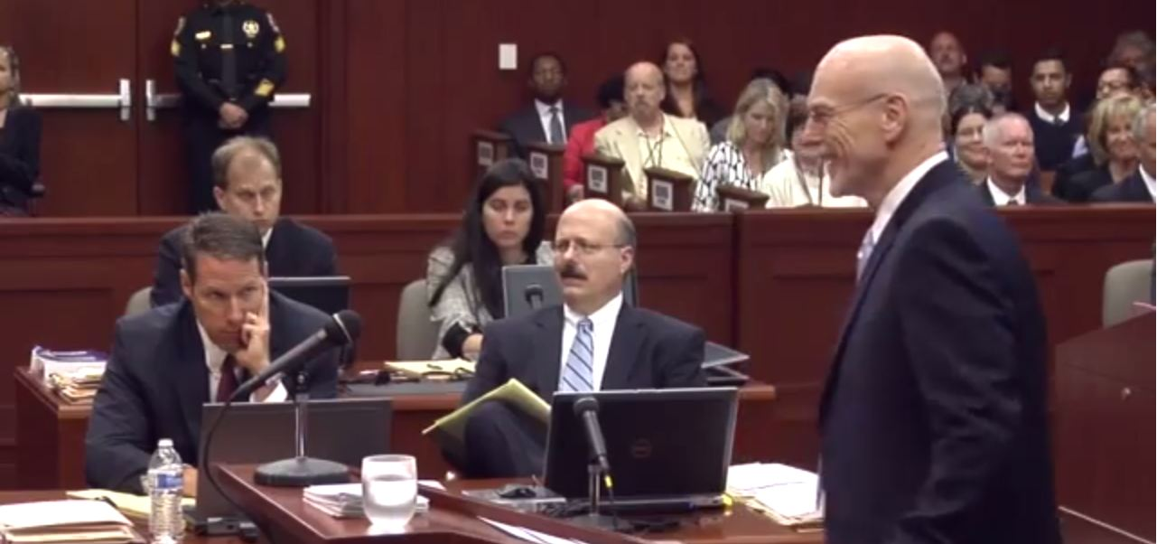 George Zimmerman's defence lawyer insists trial 'knock, knock' joke funny