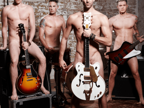 Lawson get naked for charity in sexy new shoot