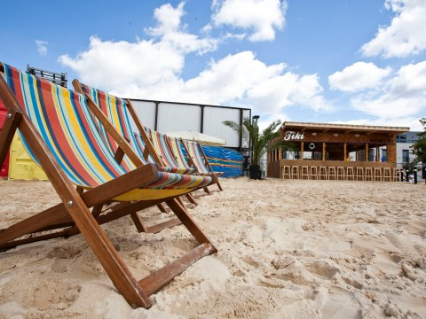 Where to hang out in a heatwave: the UK's top 5 urban beaches