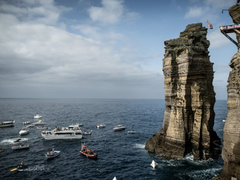 Blake Aldridge Blog: The Azores – cliff diving in its purest form at the Red Bull Cliff Diving World Series