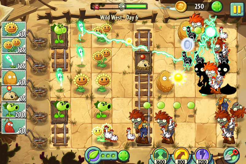 Plants Vs. Zombies 2: It's About Time (iOS) – it'll grow on you
