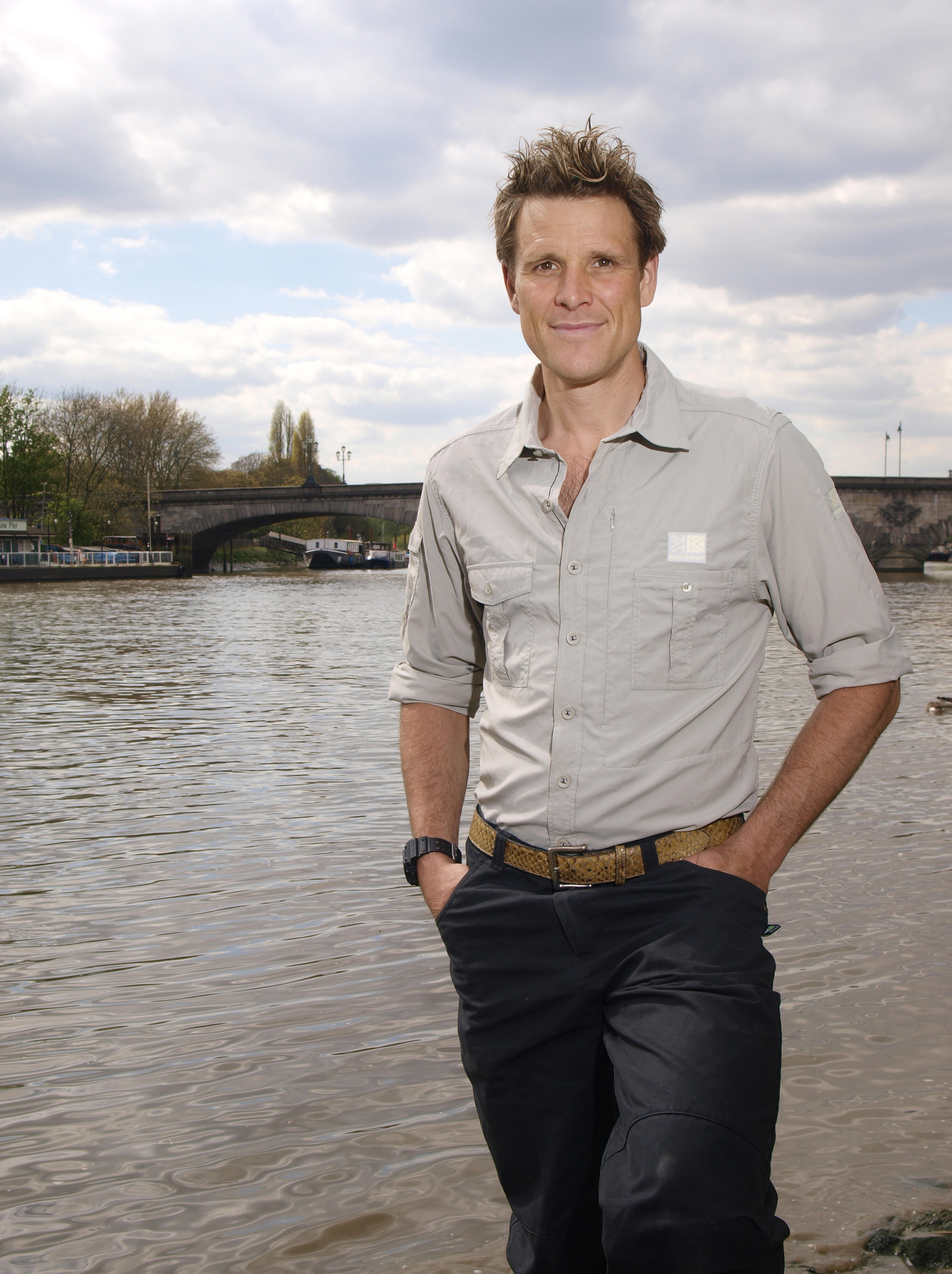 James Cracknell says his relationship with his children would have been different if he had not suffered a head injury (Picture: Rex)