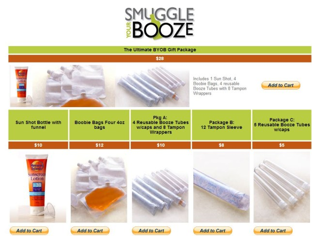 Smuggle Your Booze
