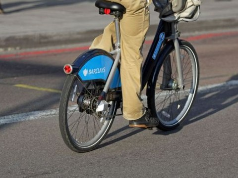 Someone's a bit lost: Boris Bike turns up in Gambia