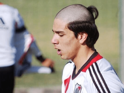 The worst haircut in football? Diego Simeone's son sports shocking hairdo