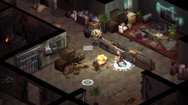 Shadowrun Returns (PC) - a mix of influences