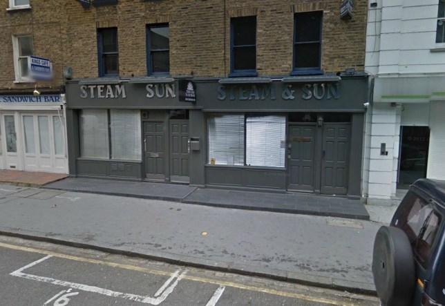 Steam & Sun brothel near Euston, London