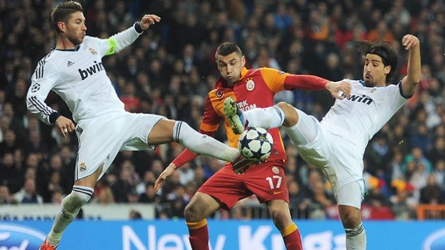 Liverpool bound? Burak Yilmaz could be in line to replace Luis Suarez at Liverpool. (Picture: Getty)