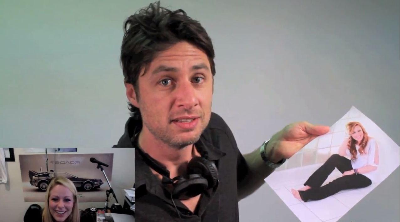Zach Braff helps man propose to his girlfriend in heart-warming video