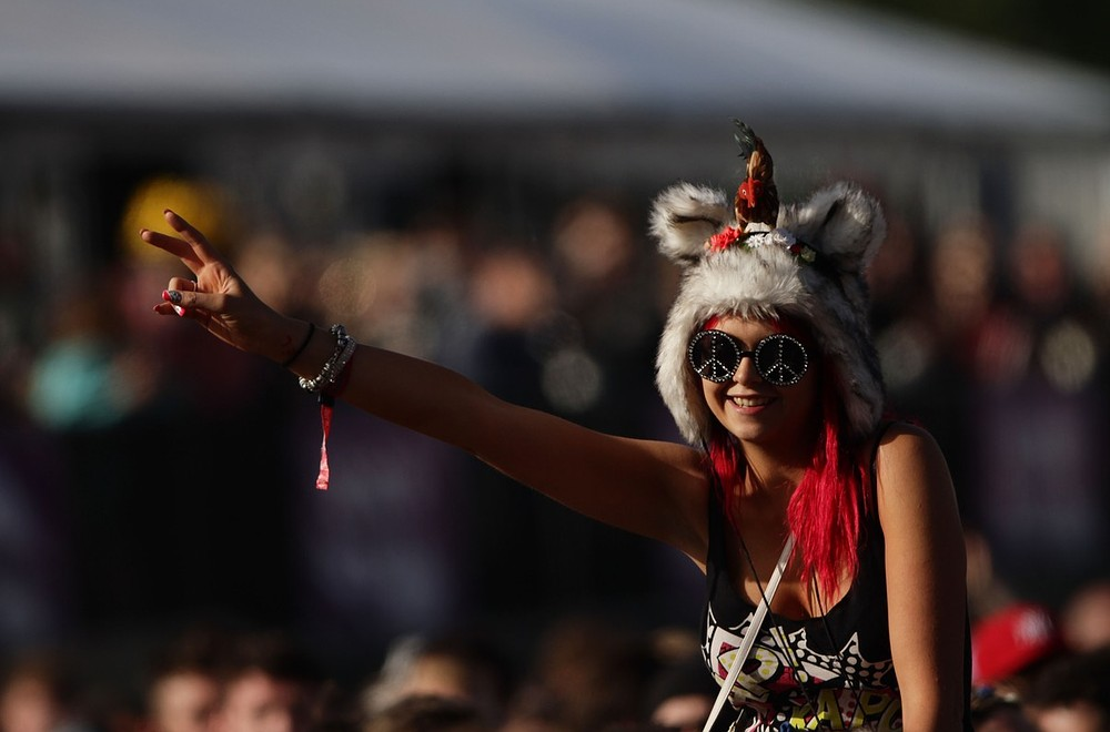 Camp Bestival 2013: Festival lifts off for a world record attempt
