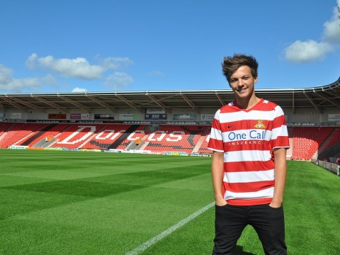 One Direction's Louis Tomlinson signs for Doncaster plus 10 other sporting celebs