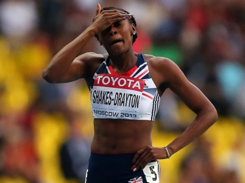 Perri Shakes-Drayton rues knee trouble as she misses out on a medal at World Championships