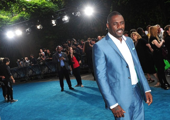 Idris Elba at Pacific Rim premiere