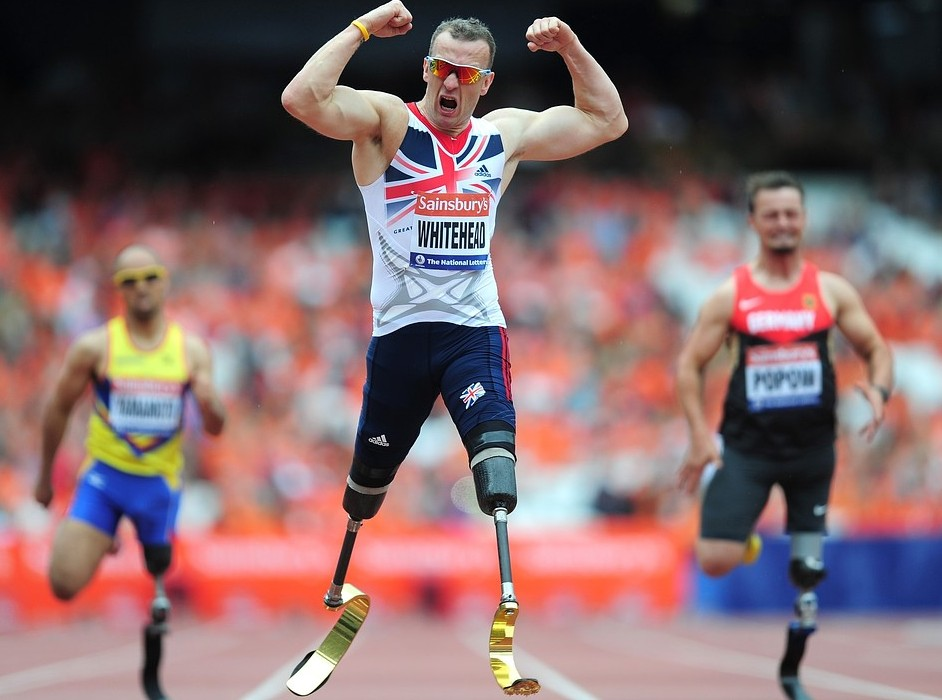 Richard Whitehead sets off on quest to spread the word about Paralympic sport