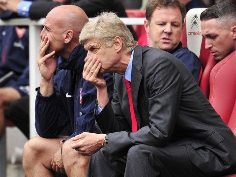 Arsene Wenger apologises to Arsenal fans after shock defeat to Aston Villa