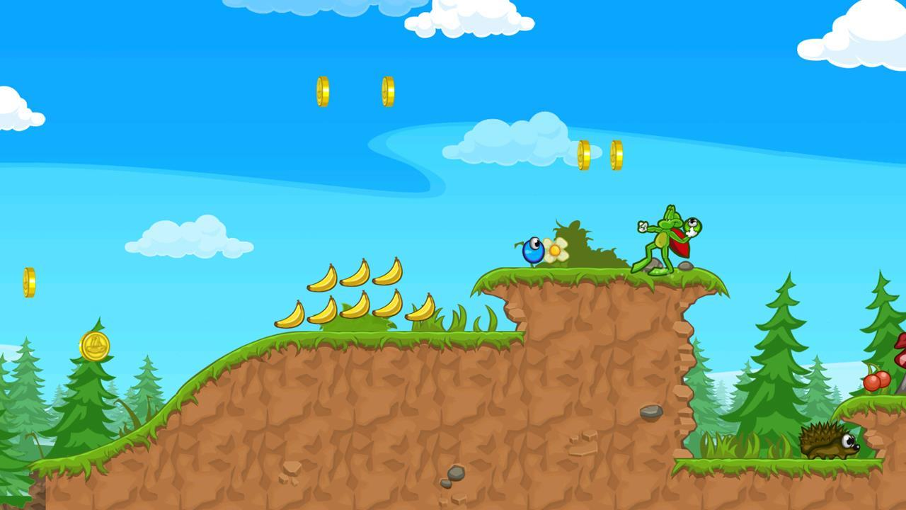 Superfrog HD (PS3) – it's not exactly Green Hill Zone is it?