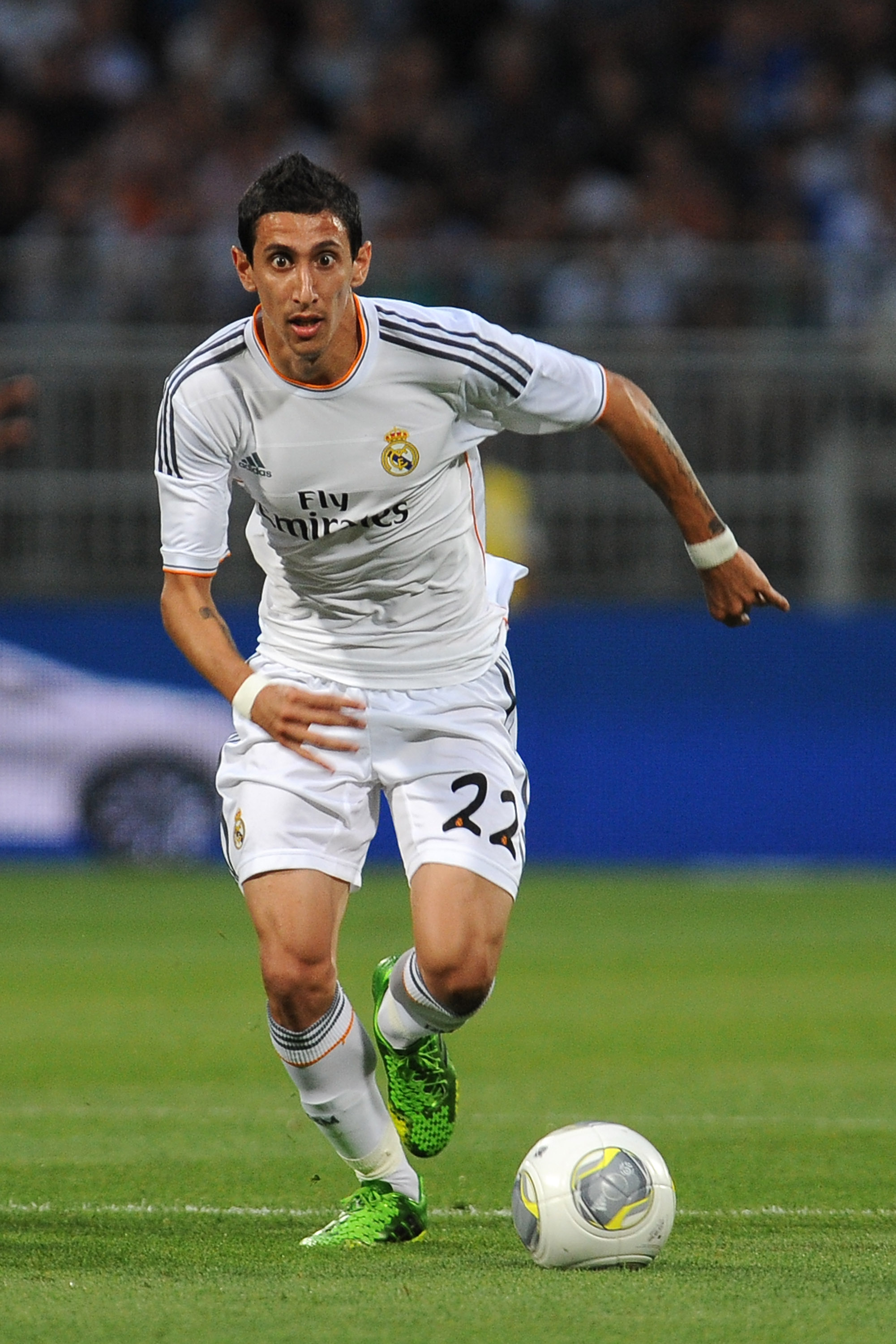 Arsenal eye Real Madrid star Angel Di Maria as Lukas Podolski heads for exit door