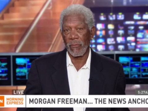 Morgan Freeman explains twerking: 'This is the first time that I've ever heard of it'
