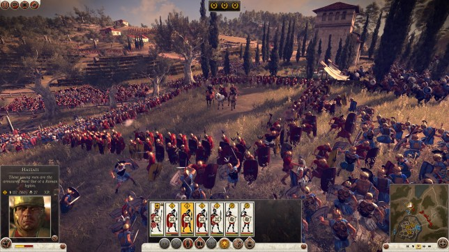Total War: Rome II - only on PC