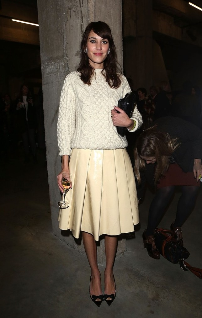 Alexa Chung will be celebrating the release of her first book, 'IT' on 5th September (Picture: Getty)